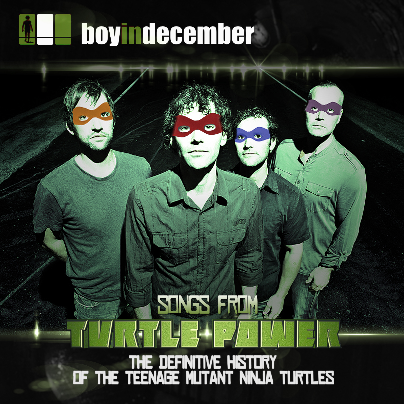 Boy In December songs from Turtle Power